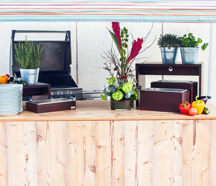 Equipment Wooden Style Sommerfest
