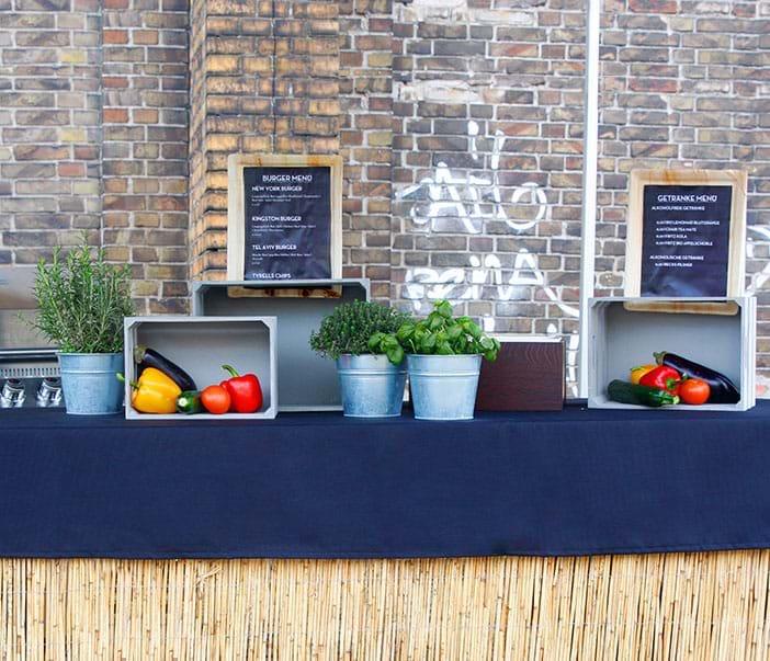 Euipment Streetfood Style Agentur Grill
