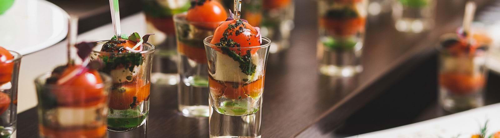 Empfang Impression Salat