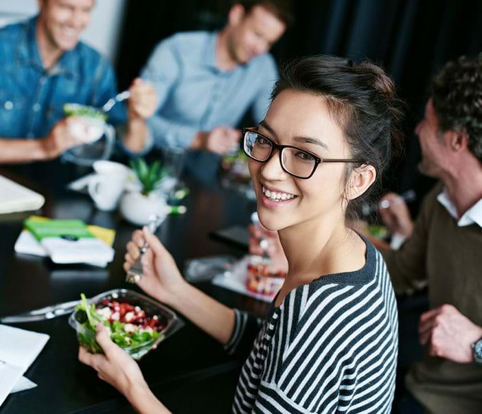 Meeting Salat Snacks