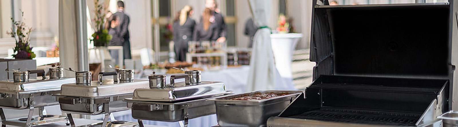 Sommerfeier Buffet Grill