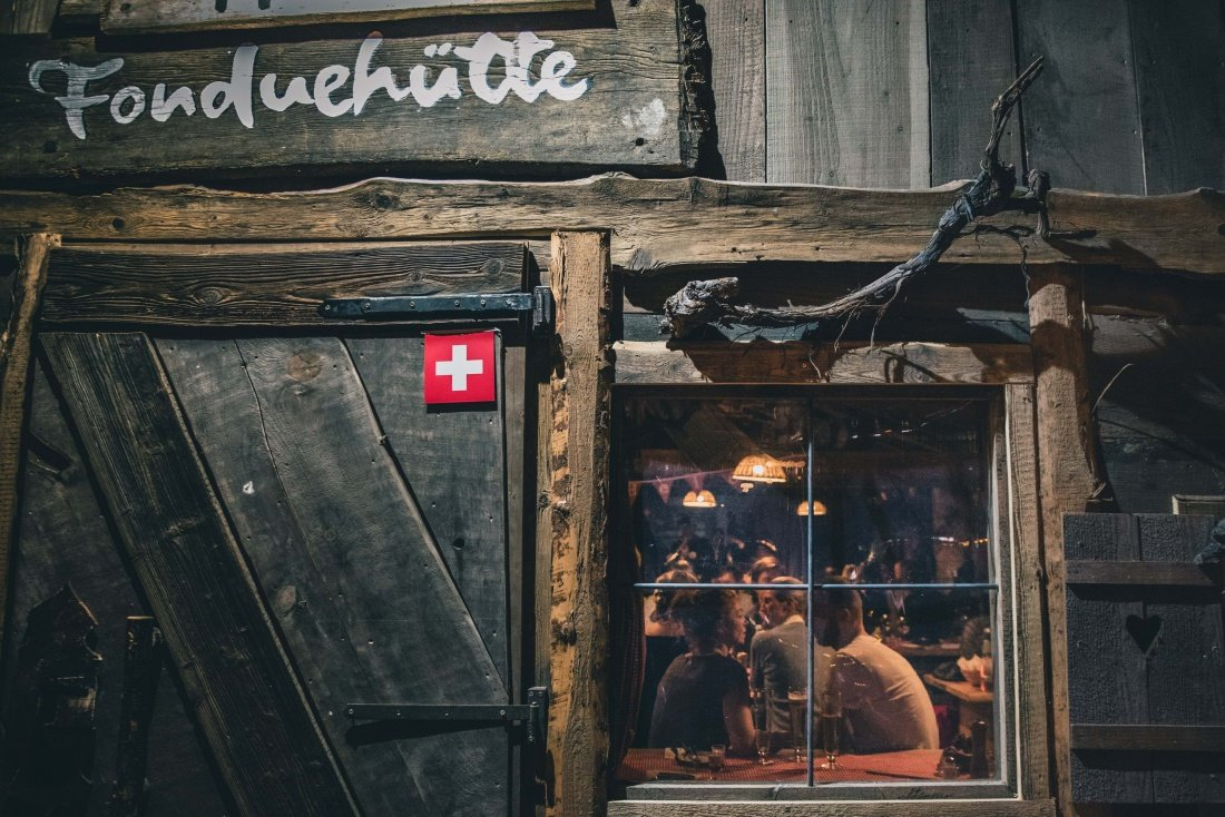 Pop Up Hütte