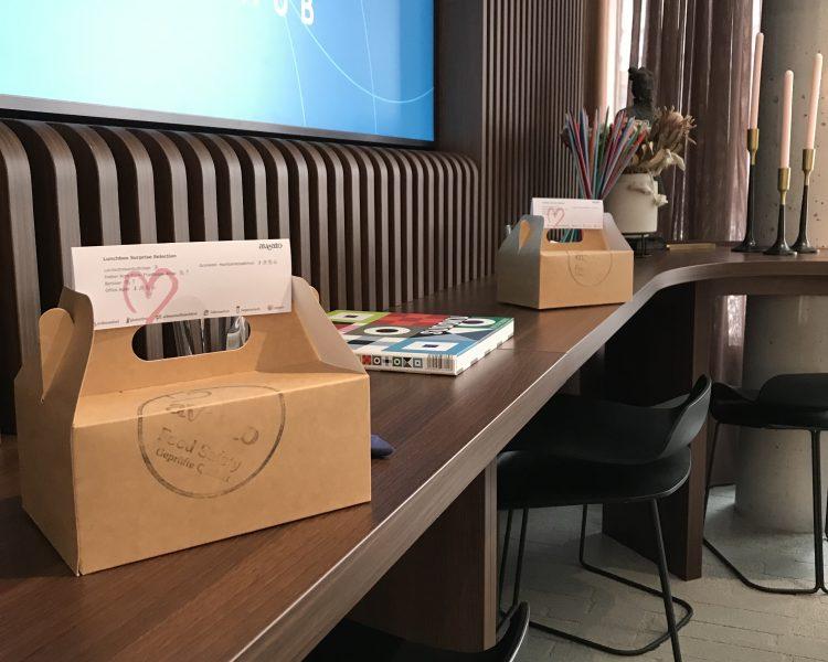 Lunch Box Catering in Corona Zeiten