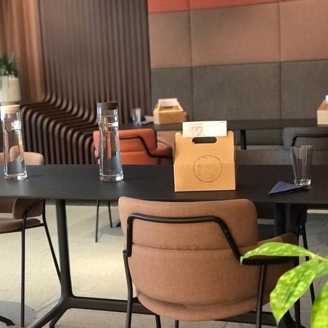 Viel Abstand und sichere Corona-Lunchboxen von aveato #safetyfirst #corona @helix_hub