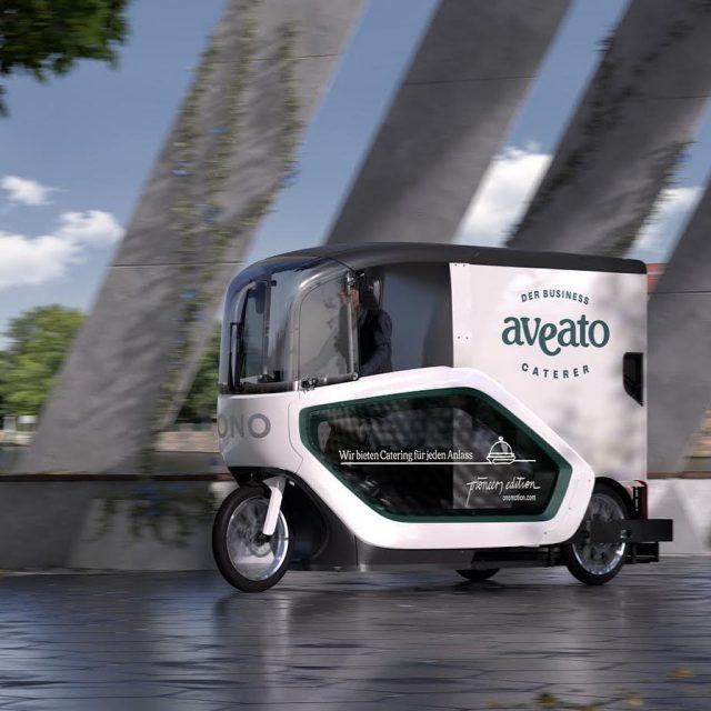 The future is now! Wir schmieden Pläne mit @ono_motion für umweltfreundliche Lieferungen mit dem E-Lastenrad. #sustainability #catering #delivery #ebike