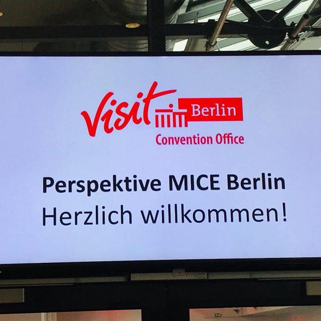Auf gehts! Endlich wieder live! Wir sind dabei, wer kann es auch nicht erwarten endlich wieder zu tagen? #visitberlin #mice #vdvo #restart #conferences