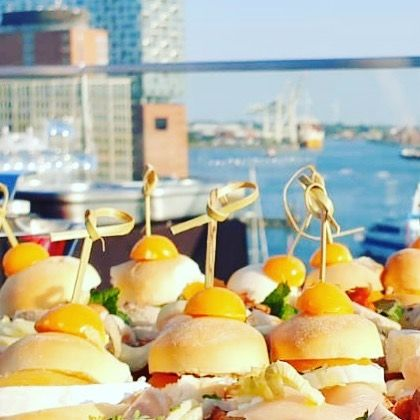 ♥️⚓️ #hamburg,  #meineperle #party #catering