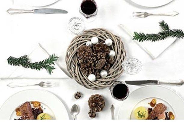 Direkt und unkompliziert Catering für Ihre Firmenweihnachtsfeier bestellen.